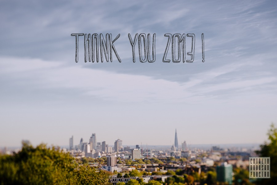 thank you 2013 !